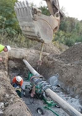 In water repair